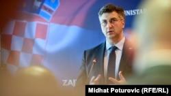 """Sve se odvijalo ''baš kako je trebalo"""": Andrej Plenković"""