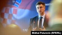 Želi depolitizaciju nogometa: Andrej Plenković