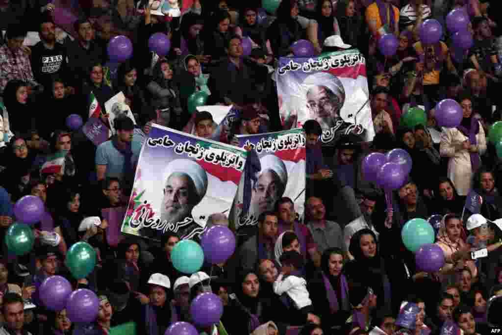 کارزار انتخاباتی حس روحانی؛ زنجان
