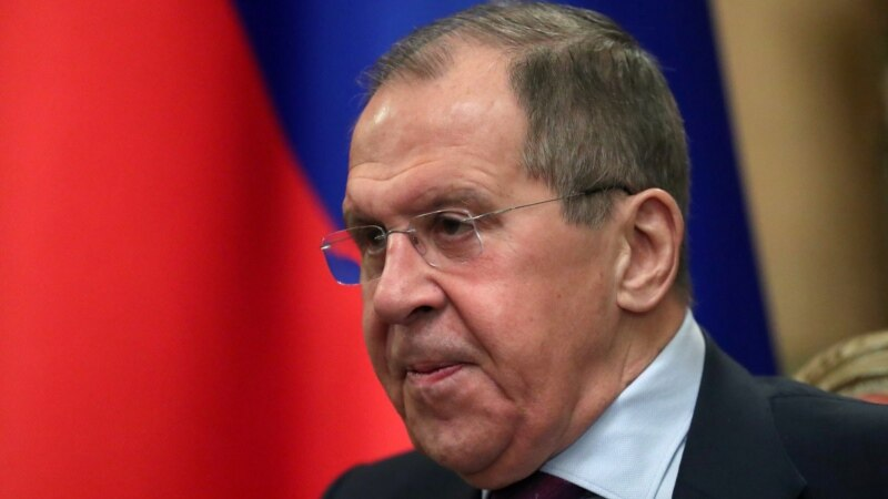 Lavrov Accuses NATO, Europe Of Stoking Tensions