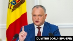 Președintele moldovean Igor Dodon
