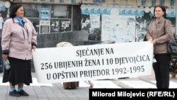 Sjećanje na 266 ubijenih žena i djevojčica u Prijedoru