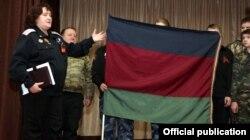 Тацяна Гаўрыліна на сустрэчы ў 19-й СШ Воршы