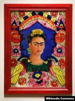 Фрида Кало. Автопортрет. 1940-жыл.