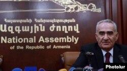 Председатель Национального Собрания Армении Галуст Саакян (архив)