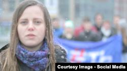 Кадр з відеозвернення російських студентів