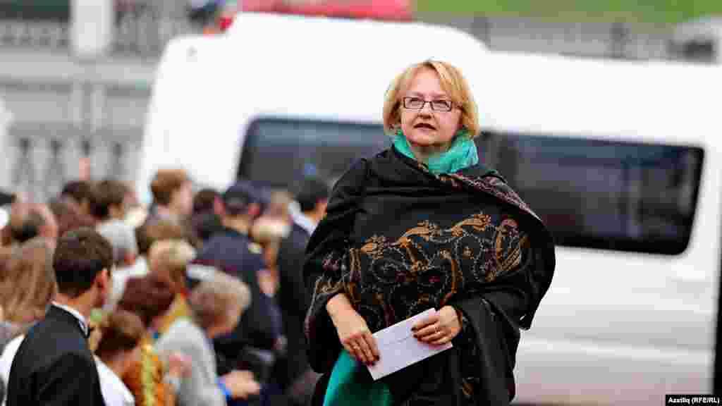 Фестивальнең жюри әгъзасы Вера Лангерова