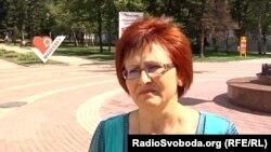 Жителька Макіївки