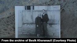 Бесик Харанаули с мамой