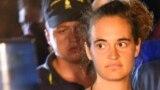 Carola Rackete, căpitana în vîrstă de 31 de ani a navei Sea-Watch 3 , 29 iunie 2019
