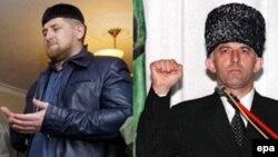 Президенты Чечни № 2 и № 4 (справа налево)