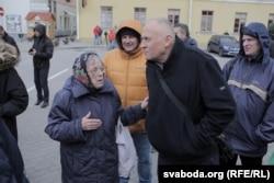 Спадарыня Алена і Мікола Статкевіч