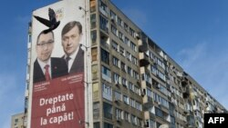 Victor Ponta şi Crin Antonescu în campania electorală din decembrie 2012