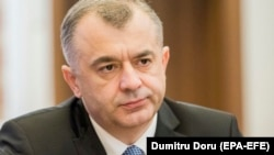 Moldovan Prime Minister Ion Chicu said the loans will help plug a rapidly growing budget deficit. (file photo)