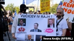 Beograd: Četvrti protest zbor demoliranja Savamale
