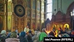 Православный храм в Чувашии. Архивное фото
