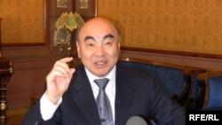 Аскар Акаев, собиқ президенти Қирғизистон