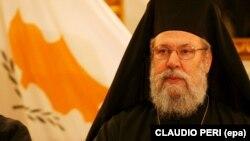 Хризостом II – архієпископ Нової Юстиніани і всього Кіпру, глава Православної церкви Кіпру (архівне фото)