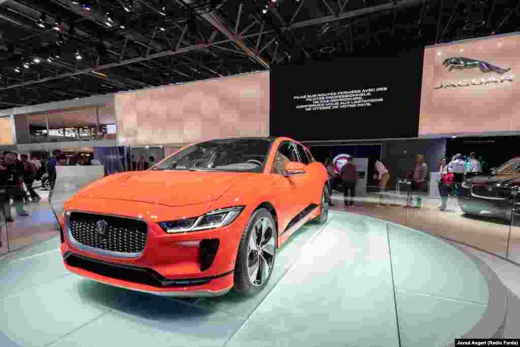 شرکت جگوار بهتازگی محصول جدید جگوار آی پیس را وارد بازار کرده است. خودرویی که رقیب تسلا ایکس است. این خودرو توانسته مقام خودروی سال اروپا را نیز کسب کند.