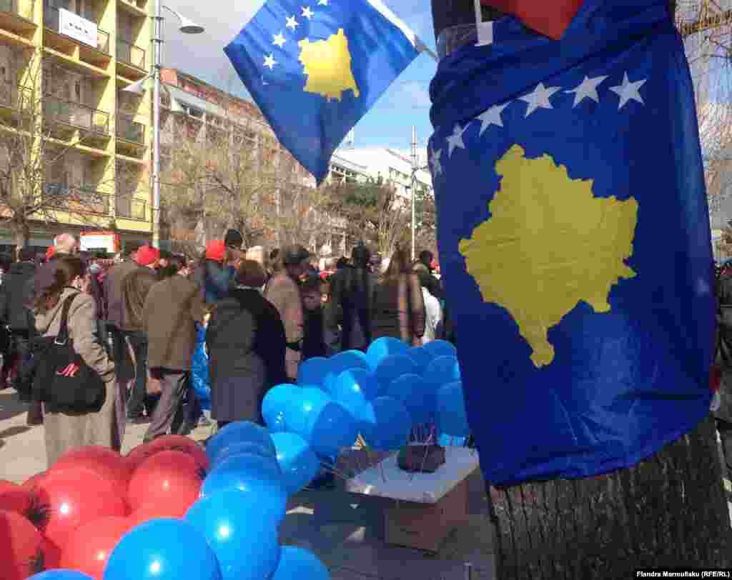 Aktivitetet gjatë përvjetorit të shtatë të pavarësisë së Kosovës