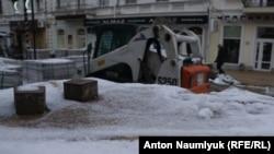 Зима в Симферополе, 3 декабря 2016 года