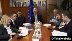 Nga takimi i parë në Bruksel ndërmjet Kosovës dhe Serbisë