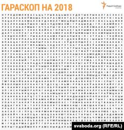 Крыжаванка-прагноз на 2018 год