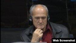 Miroslav Kvočka svjedoči na suđenju Radovanu Karadžiću u Hagu, 20. siječanj 2014.