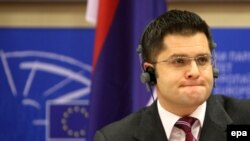 Ministri i Jashtëm serb, Vuk Jeremiq.