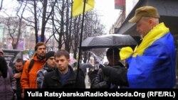 Зібрання дніпропетровських активістів з вимогою розслідувати «справу Гончаренка», Дніпропетровськ, 22 березня 2013 року