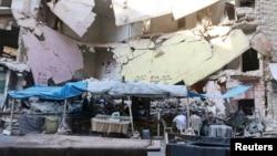 Разрушения в Алеппо, Сирия. Иллюстративное фото.