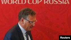 Генералниот секретар на ФИФА, Жером Валцке