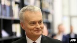 Новаабраны прэзыдэнт Літвы Гітанас Наўседа