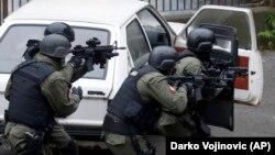 Припадници на српските безбедносни сили
