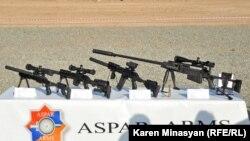 Армения – Демонстрация оружия армянского производства во время военных учений ОДКБ, 19 сентября 2012 г.