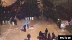 """Милиция прибыла к """"Евромайдану"""". Киев, 11 декабря 2013 года."""