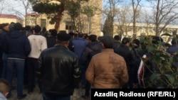 Акция протеста в Сиязяне. 13.1.2016