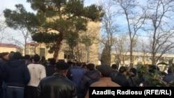 Siyəzəndə etiraz aksiyası,13 yanvar, 2016
