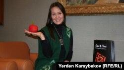Кәсіпкер Айгүл Жансерікова. Алматы, 20 қараша 2013 жыл.