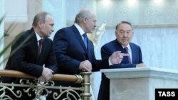 Уладзімер Пуцін, Аляксандар Лукашэнка і Нурсултан Назарбаеў