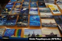 Листівки на виставці «Повернення додому». Дніпро, 19 квітня 2019 року