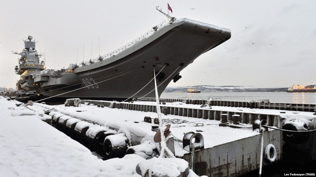 For Russia's Navy, A Damaged Aircraft Carrier Is Bad Enough  A