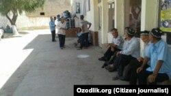 Узбекские пенсионеры, архивное фото.