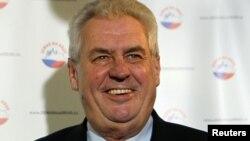 Presidenti i zgjedhur i Çekisë, Milosh Zeman.