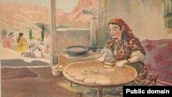 Нина Жаба. Изготовление чебуреков
