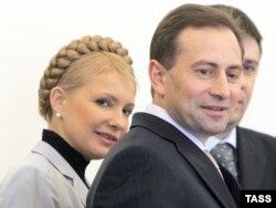 Yulia Tymoshenko və Mikola Tomenko