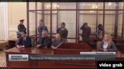 Террорчиликда айбдор деб топилган Тожикистон фуқаролари Нижний Новгород вилоят судида.