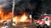 Пожежу біля станції метро «Лісова» у Києві локалізували, виявлено тіло людини – ДСНС