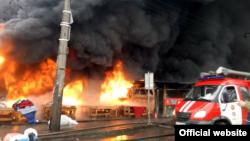 Пожежа у Києві, архівне фото