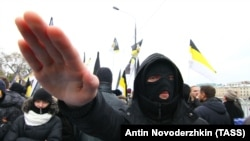 """Акция националистов """"Русский марш"""" в Москве, 2012 год"""